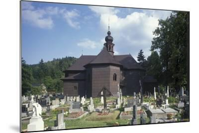 Church of Our Lady of Snows at Velke Karlovice--Mounted Photographic Print