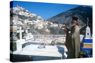 Easter Celebration, Olymbos, Karpathos, Greece--Stretched Canvas Print