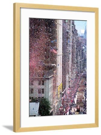 Ticker Tape Parade, New York, New York--Framed Photographic Print