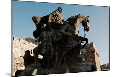 Saladin Memorial, Entrance to Citadel, Damascus, Syria--Mounted Photographic Print
