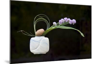 Ikebana, the Art of Flower Arrangement--Mounted Photographic Print