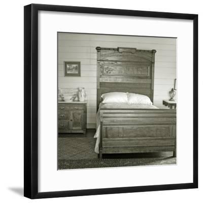 Isobel's Bedroom, Villa Vailima, Apia, Samoa--Framed Photographic Print