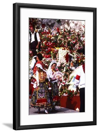Pilar Celebration, Zaragoza, Aragon, Spain--Framed Photographic Print
