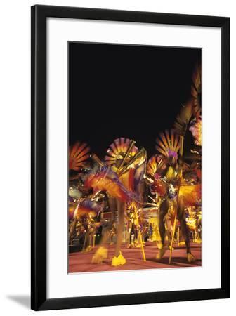 Carnival, Kingstown, St. Vincent--Framed Photographic Print