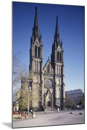 Church of St. Ludmila, Prague, Czech Republic--Mounted Photographic Print