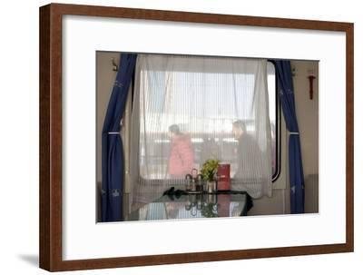 Train in China--Framed Photographic Print