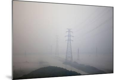 In Train Approaching Shanghai, China--Mounted Photographic Print