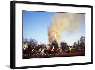 Sechselauten Celebration, Zurich, Switzerland--Framed Photographic Print