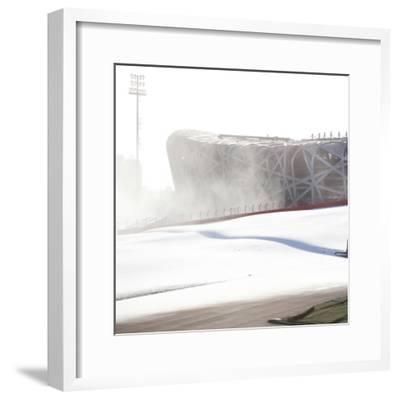 Beijing National Stadium, Beijing, China--Framed Photographic Print