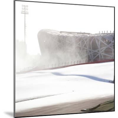 Beijing National Stadium, Beijing, China--Mounted Photographic Print