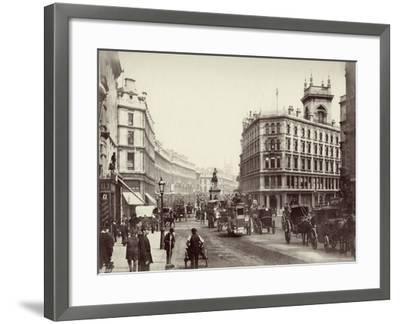 Holborn, London, C.1880--Framed Photographic Print