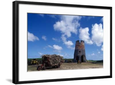 Drax Hall Sugar Mill, Barbados--Framed Photographic Print