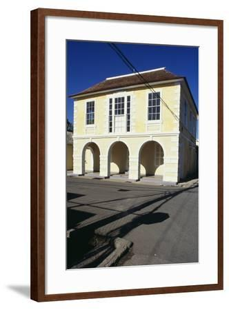 Falmouth Post Office, Jamaica--Framed Photographic Print
