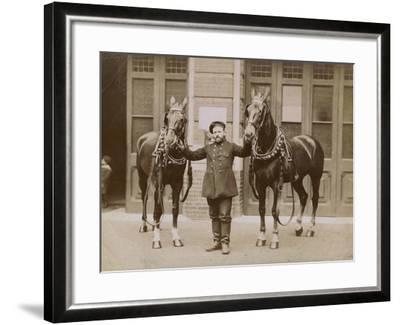 London, C.1885--Framed Photographic Print