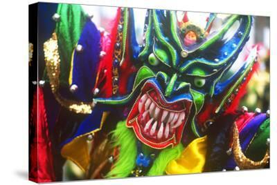 Mardi Gras, La Vega, Dominican Republic, Caribbean--Stretched Canvas Print