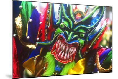 Mardi Gras, La Vega, Dominican Republic, Caribbean--Mounted Photographic Print