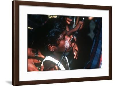 Thaipusam Festival, Batu Caves, Malaysia--Framed Photographic Print