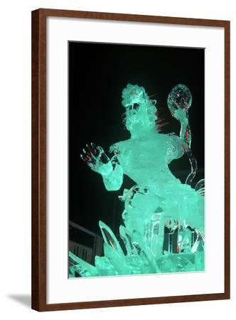 Ice Sculpture, Sapporo, Japan--Framed Photographic Print