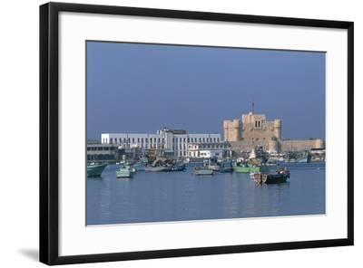 The Port of Alexandria, Egypt--Framed Photographic Print