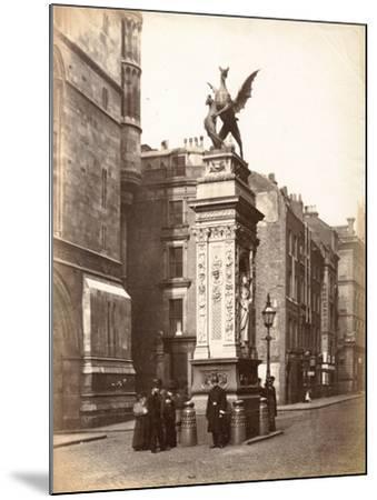Temple Bar, London, C.1885--Mounted Photographic Print