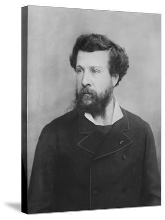 Portrait of Édouard Pailleron--Stretched Canvas Print