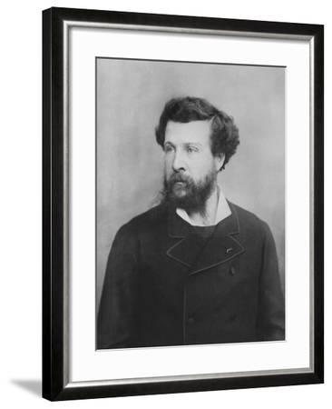 Portrait of Édouard Pailleron--Framed Photographic Print