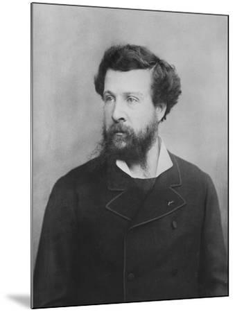 Portrait of Édouard Pailleron--Mounted Photographic Print