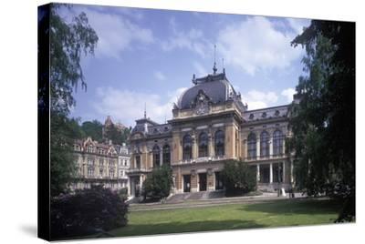 Imperial Bath, Karlovy Vary, Czech Republic--Stretched Canvas Print
