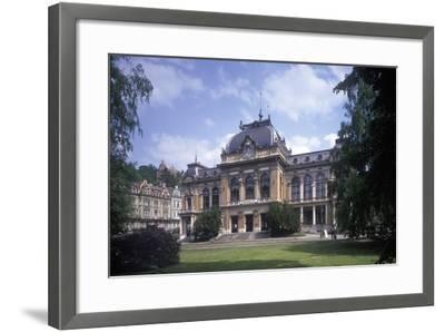 Imperial Bath, Karlovy Vary, Czech Republic--Framed Photographic Print