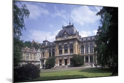 Imperial Bath, Karlovy Vary, Czech Republic--Mounted Photographic Print