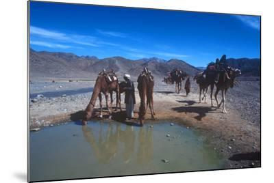 Desert Nomads, Bolan Pass, Pakistan--Mounted Photographic Print