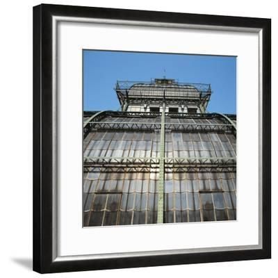 Low Angle View of a Palace, Schonbrunn Palace, Vienna, Austria--Framed Photographic Print