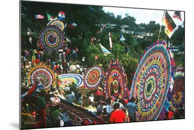 Giant Kite Festival, All Souls All Saints Day, Guatemala--Mounted Photographic Print