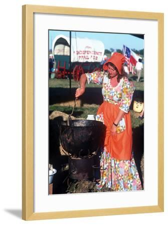 San Jacinto Celebration, Houston, Texas--Framed Photographic Print