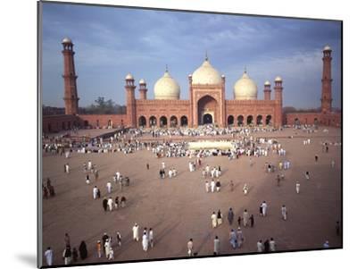 Eid Ul Fitr Celebration, Badshahi Mosque, Lahore, Pakistan--Mounted Photographic Print