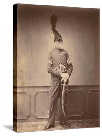 M. Dupont, Fourier of the 1st Hussars, 1860--Stretched Canvas Print