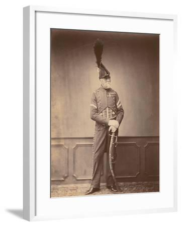 M. Dupont, Fourier of the 1st Hussars, 1860--Framed Photographic Print
