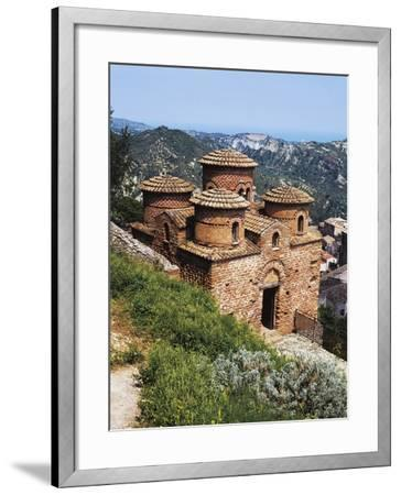 Catholic, 10th Century, Byzantine Church, Stilo, Calabria, Italy--Framed Photographic Print
