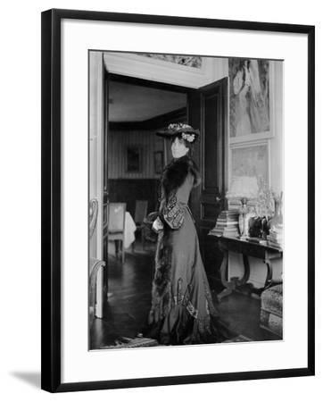 Portrait of Jeanne Pontillon--Framed Photographic Print