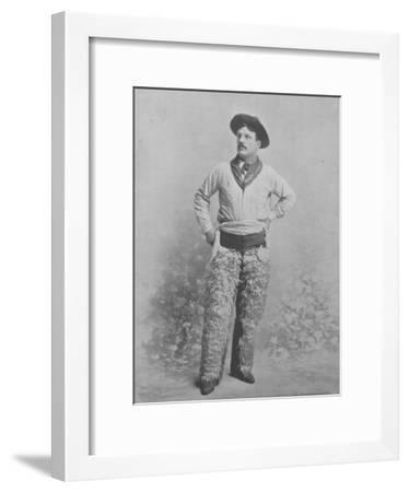 Harry Shanton--Framed Photographic Print