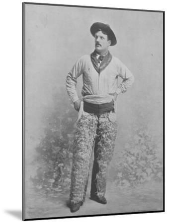 Harry Shanton--Mounted Photographic Print