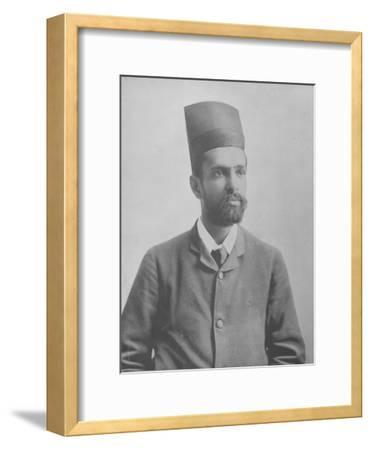 Mr. Ardeeji--Framed Photographic Print