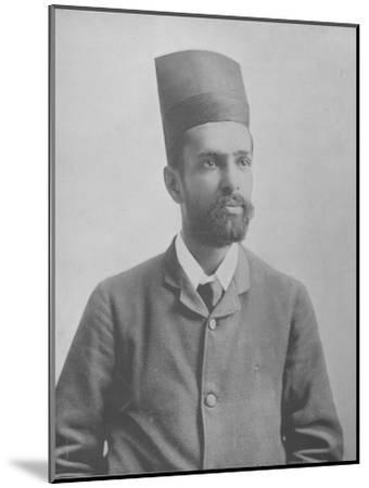 Mr. Ardeeji--Mounted Photographic Print