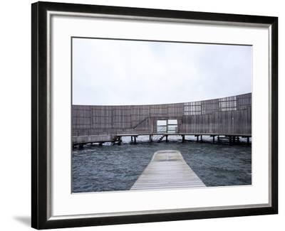Kastrup Sea Baths, Kastrup, Copenhagen, Denmark--Framed Photographic Print