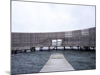 Kastrup Sea Baths, Kastrup, Copenhagen, Denmark--Mounted Photographic Print