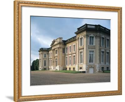 Facade of a Castle, Belbeuf, Haute-Normandy, France--Framed Photographic Print
