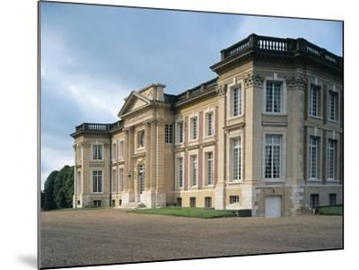 Facade of a Castle, Belbeuf, Haute-Normandy, France--Mounted Photographic Print