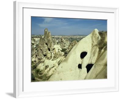 Turkey, Goreme National Park, Troglodyte Church, Central Antatolia--Framed Photographic Print