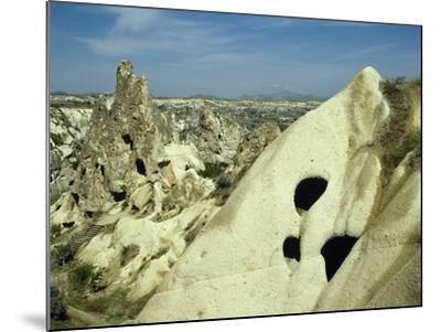 Turkey, Goreme National Park, Troglodyte Church, Central Antatolia--Mounted Photographic Print