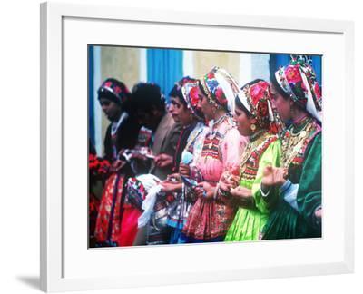 Easter Celebration, Olymbos, Karpathos, Greece--Framed Photographic Print